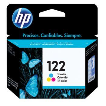 Cartucho de tinta HP 122 CH562HB Color 2 ml