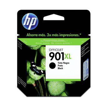 Cartucho de Tinta HP 901XL CC654AB Preto 15,5 ml