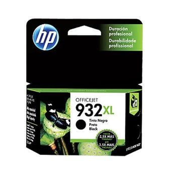 Cartucho de Tinta HP 932XL OfficeJet Preto - CN053AL 22,5ml