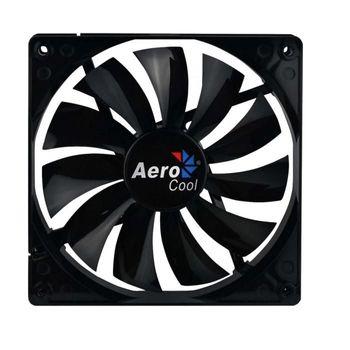 Cooler FAN AeroCool 140x140 Dark Force Black EN51349