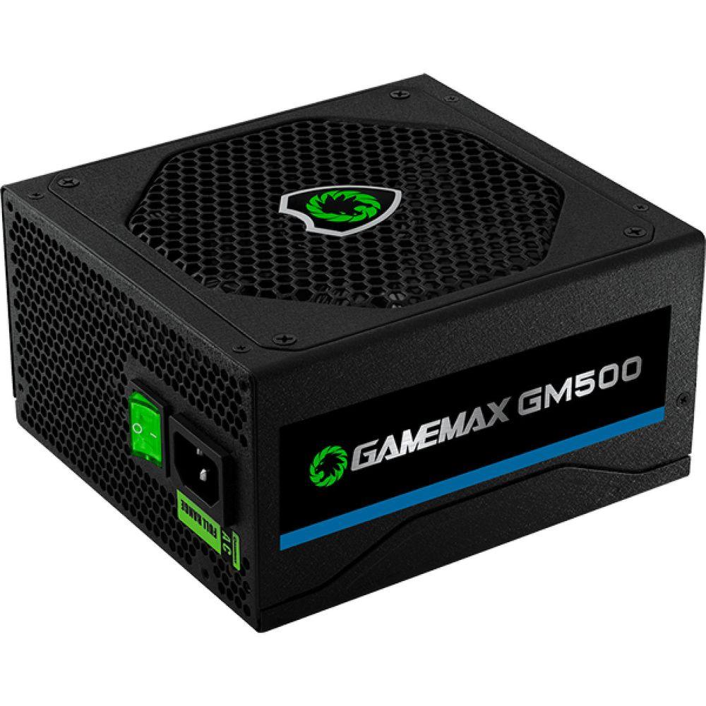 Fonte Gamemax GM500 500W 80 Plus Bronze PFC Ativo