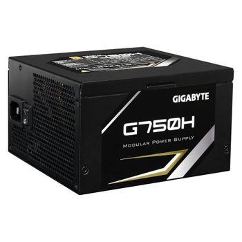 Fonte Gigabyte 750W 80 Plus Gold Semi Modular - GP-G750H/BR