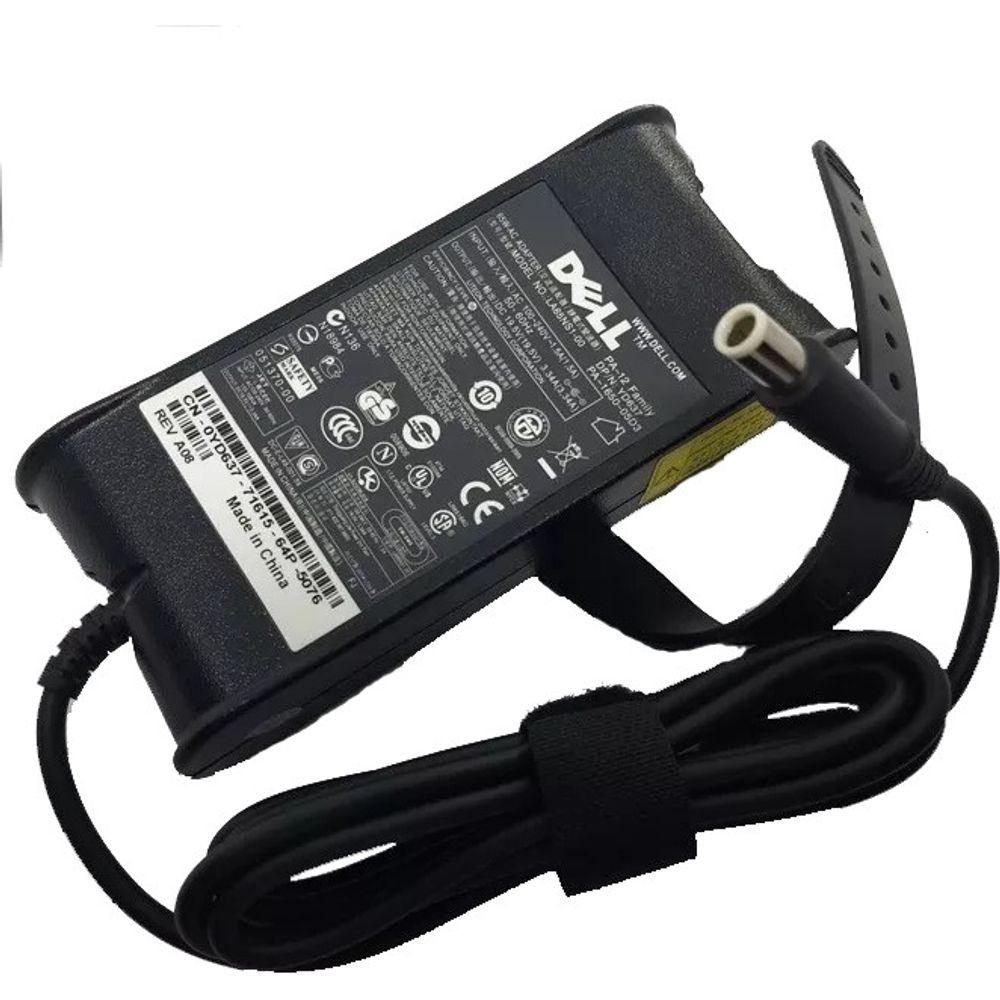 Fonte para Notebook Dell 19.5v 3.34 65W Slim 7.4x5.0mm - Compatível