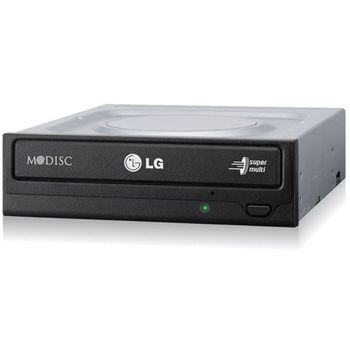 Gravador Interno DVD-RW LG 24X Sata Preto - GH24NSC0