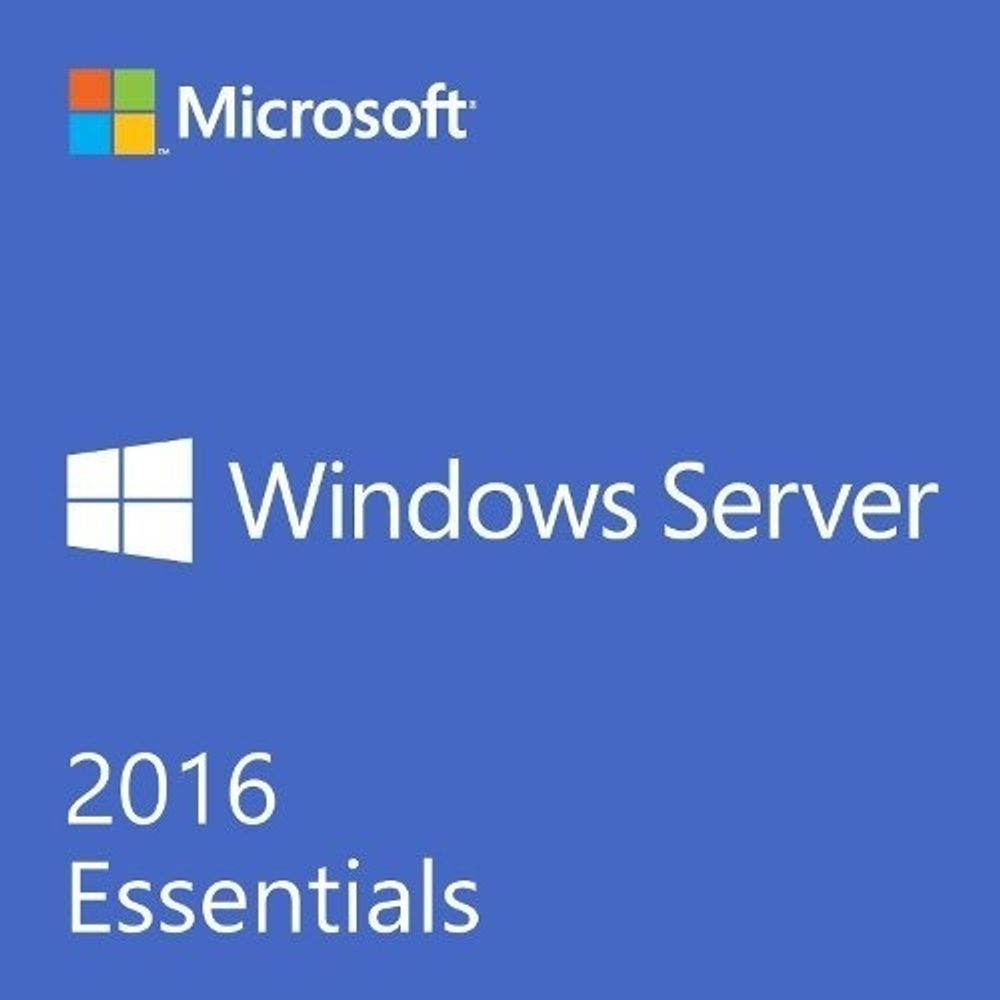 Microsoft Windows Server Essentials 2016 SNGL OLP NL G3S-01015 COEM