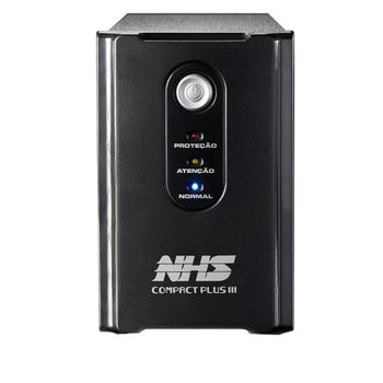 Nobreak NHS Compact PLUS III (1200VA C/ 2 Bat. 7Ah / USB) - 90.C0.012004