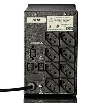 Nobreak NHS Compact Plus III (1500VA C/ 2 Bat. 9Ah / 220V ) - 90.D0.015001