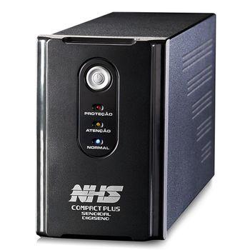 Nobreak NHS Compact Plus Digiseno Senoidal  (700VA C/ 2 Bat. 7Ah) - 90.A0.007000