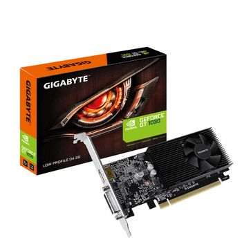Placa de Vídeo Gigabyte Geforce GTX 1030 2GB GDDR4 64Btis Low Profile - GV-N1030D4-2GD