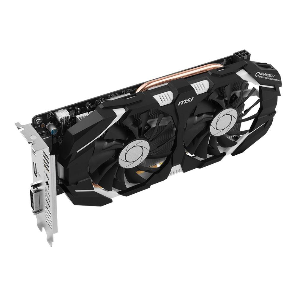 Placa de Vídeo MSI Geforce GTX 1060 Dual Fan 6GT OCV1 6GB GDDR5 192Bit - 912-V328-274