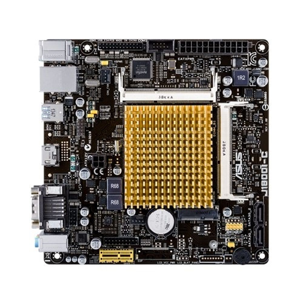Placa Mãe ASUS J1800I-C/BR Processador Integrado Intel Dual Core J1800I, DDR3L, HDMI, USB
