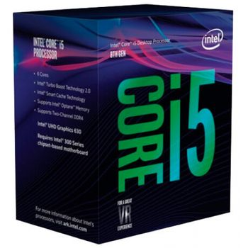 Processador Intel Core i5-8400 Coffee Lake 8Ger. 2.8GHz 9MB, LGA 1151 - BX80684I58400