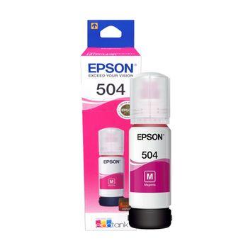 Refil de Tinta Epson T504320 Magenta 70 ml