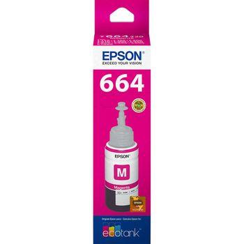 Refil de Tinta Epson T664320-AL Magenta 70 ml