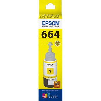 Refil de Tinta Epson T664420-AL Amarelo 70 ml