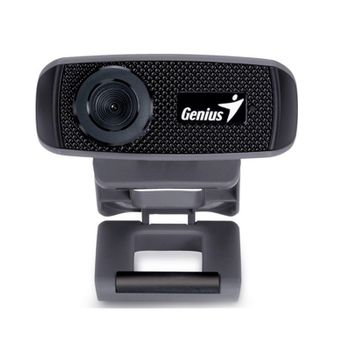 Webcam Genius Facecam 1000X HD 720P Preto