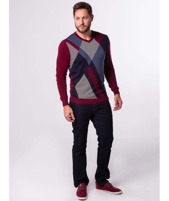 Suéter Decote V