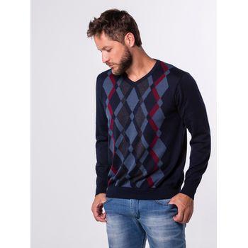 Suéter Losangos