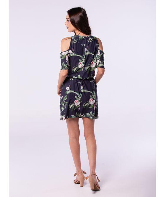 vestido decote ombro