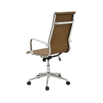 Cadeira Eames Sevilha Rivatti Alta PU
