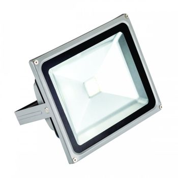 Holofote Refletor Led Pix Cob 30W Branco Frio