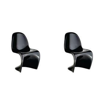 Conjunto 2 peças Cadeira Panton Rivatti