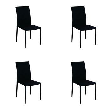 Kit 4 peças Cadeira Amanda Tecido Rivatti