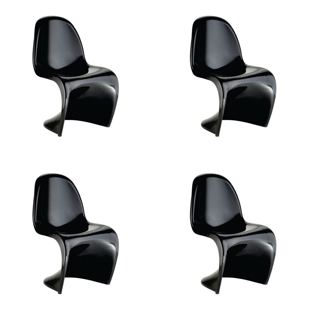 Conjunto 4 peças Cadeira Panton Rivatti