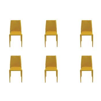 Kit 6 peças Cadeira Amanda Rivatti