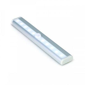 Luminária Smart Led Pix 190mm a Bateria LIitio Com Carregador Usb