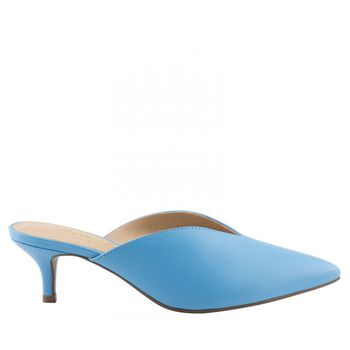 Mule Decote Napa Blue