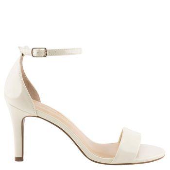 Sandália Clássica Verniz Off White