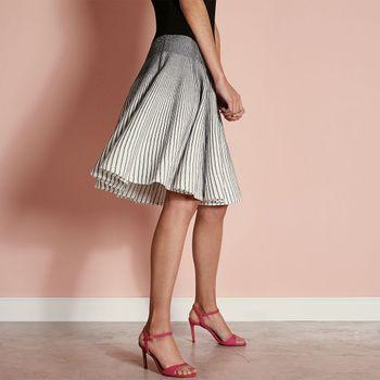 Sandália Salto Fino Pink
