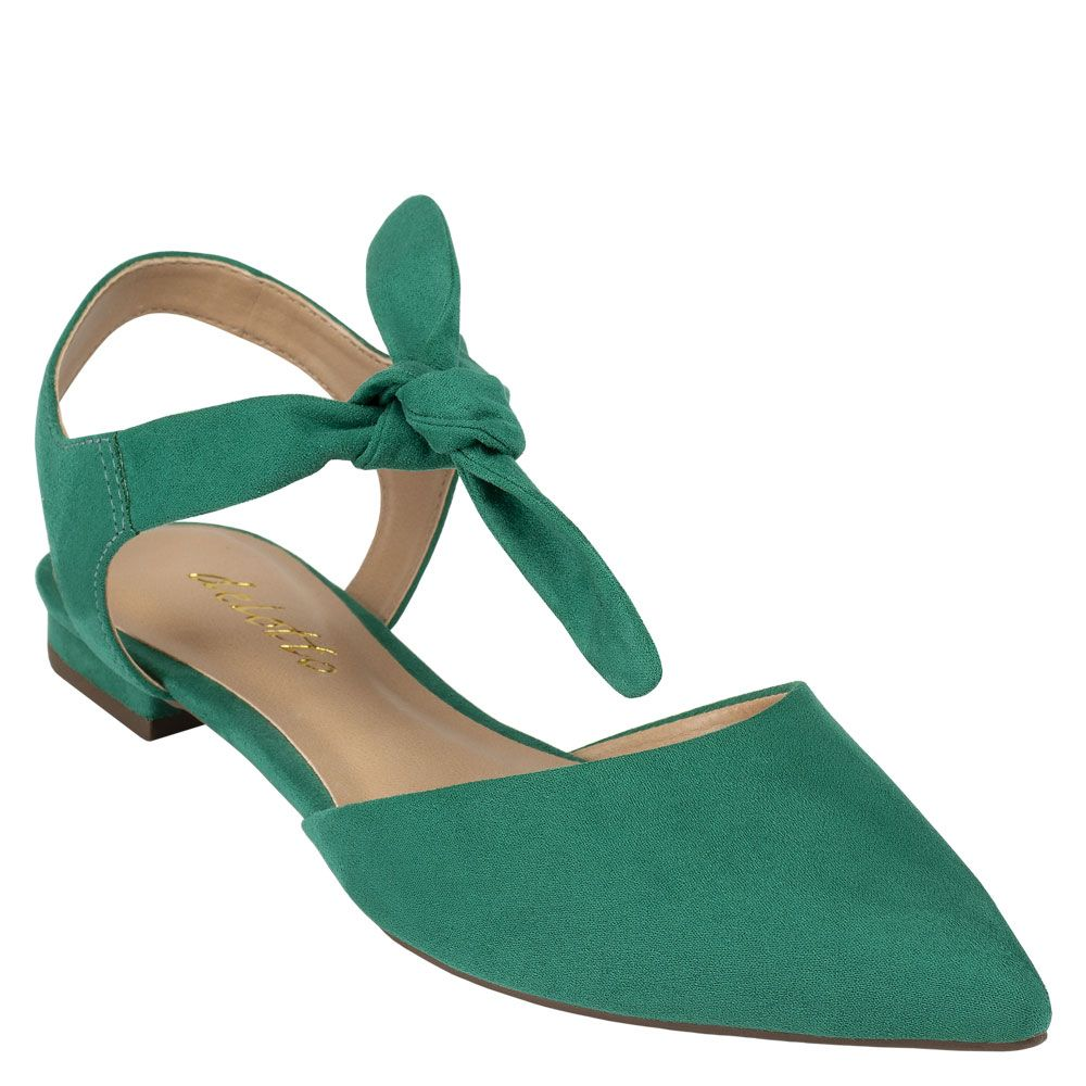 Sapatilha Lace-up Aberta Suede Agave