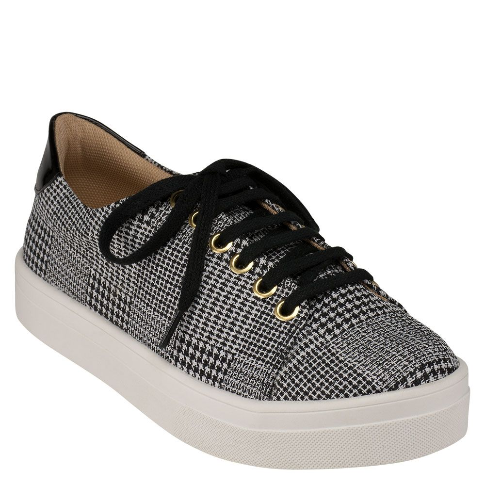 tenis-delotto-clean-tweed-preto