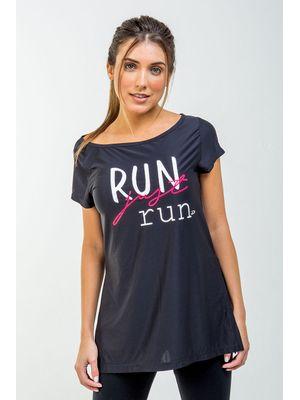 Camiseta Run Just Run