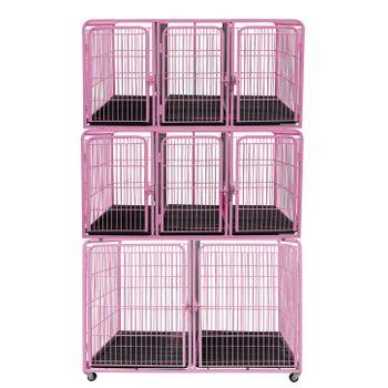 Canil/Gatil de 08 Lugares para Banho e Tosa e Pet Shop em Aço
