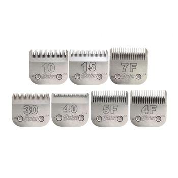 Lâminas de Tosa Oster nº 10, 15, 7F, 30, 40, 5F E 4F - Combo Completo de Lâminas de Tosa