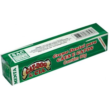 Creme Dental Cat Dog Menta