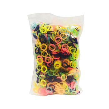 Elástico Látex Colorido (Pacote c/ 1000 Unidades)