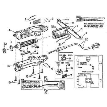 Filtro do Motor Clipmaster/ Shearmaster Oster