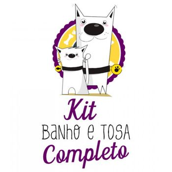 Kit Banho & Tosa Completo - 42 Itens