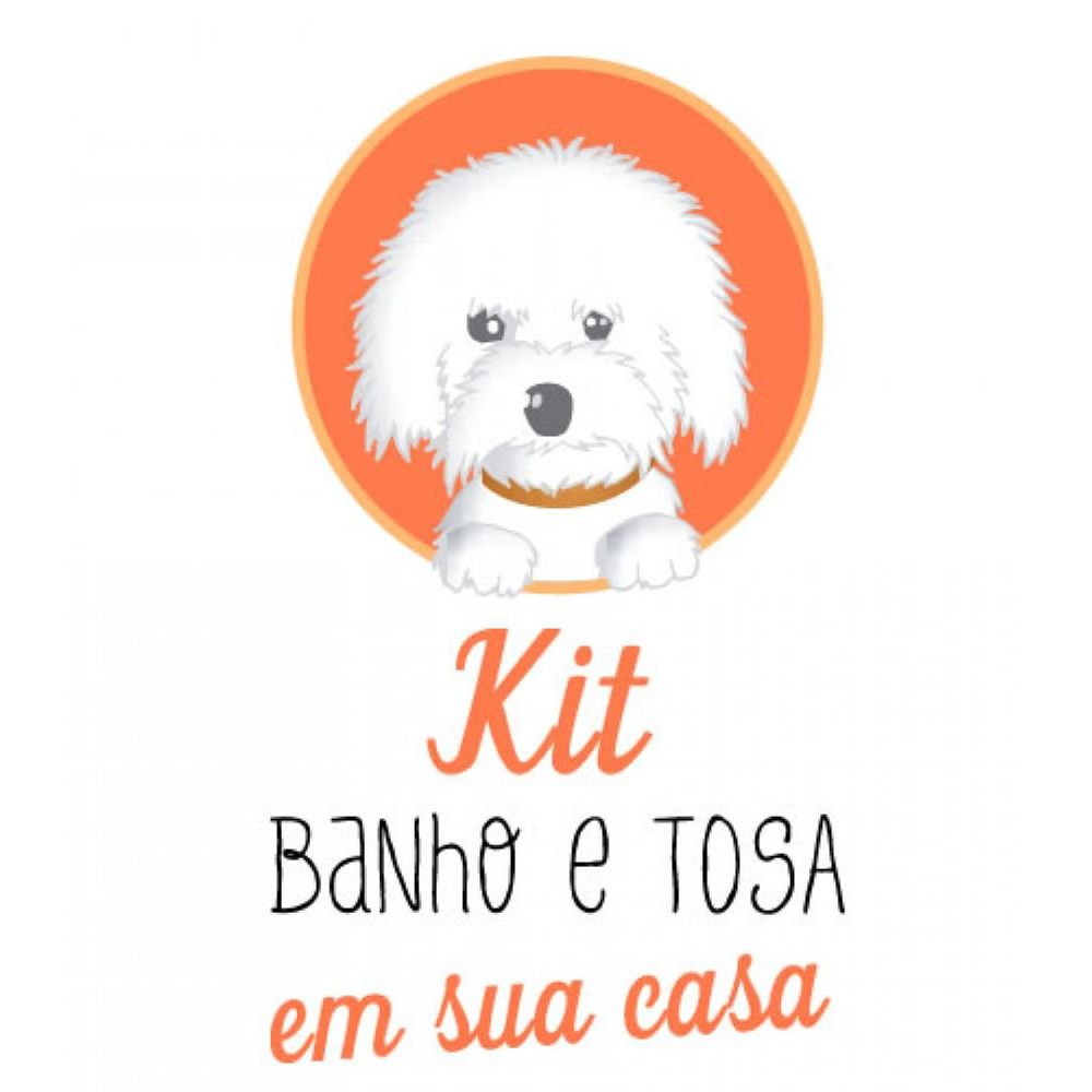 Kit Banho & Tosa em Casa - 8 Itens