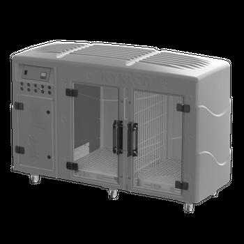 Máquina de Secar Rotomoldada Kyklon Cinza