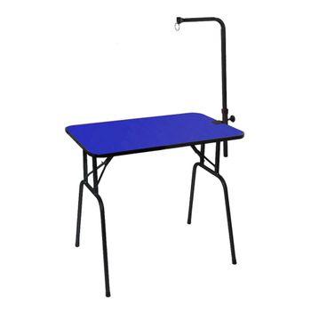 Mesa de Tosa Dobrável Azul c/ Girafa Venezia