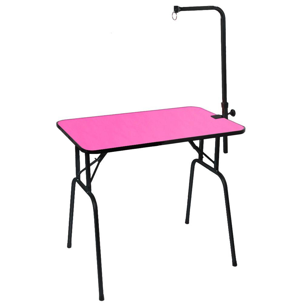 Mesa de Tosa Dobrável Pink c/ Girafa Venezia
