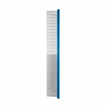 Pente 25cm Azul Duplo Redondo - ProPetz