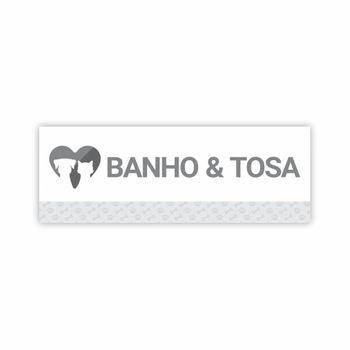 Placa para Clínicas Veterinárias, Pet Shop ou Banho e Tosa
