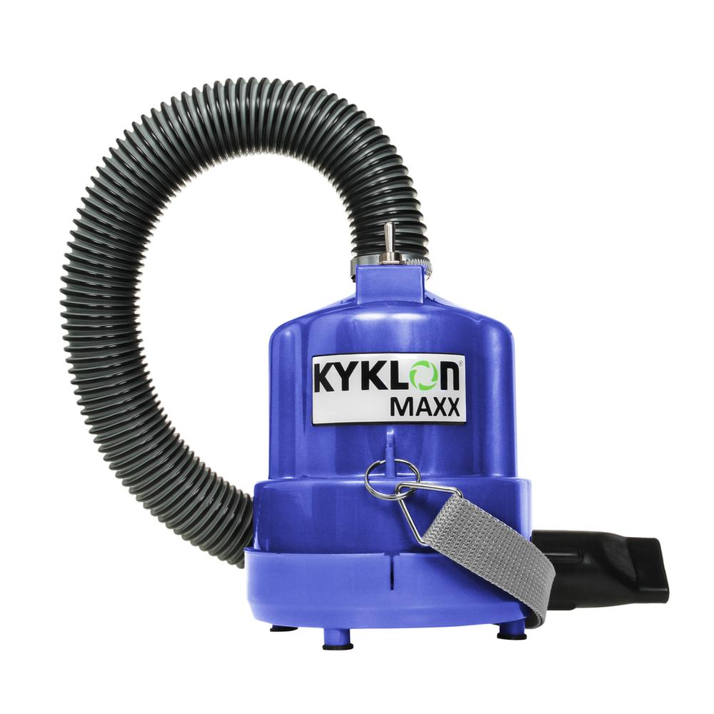 Secador de Pedestal Kyklon 5000 Marinho + Soprador Maxx Marinho - Combo