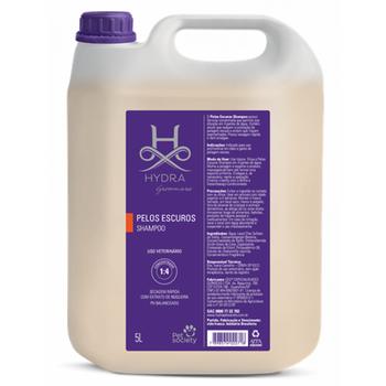 Shampoo Pelos Escuros Hydra Pet Society 5L 1:4